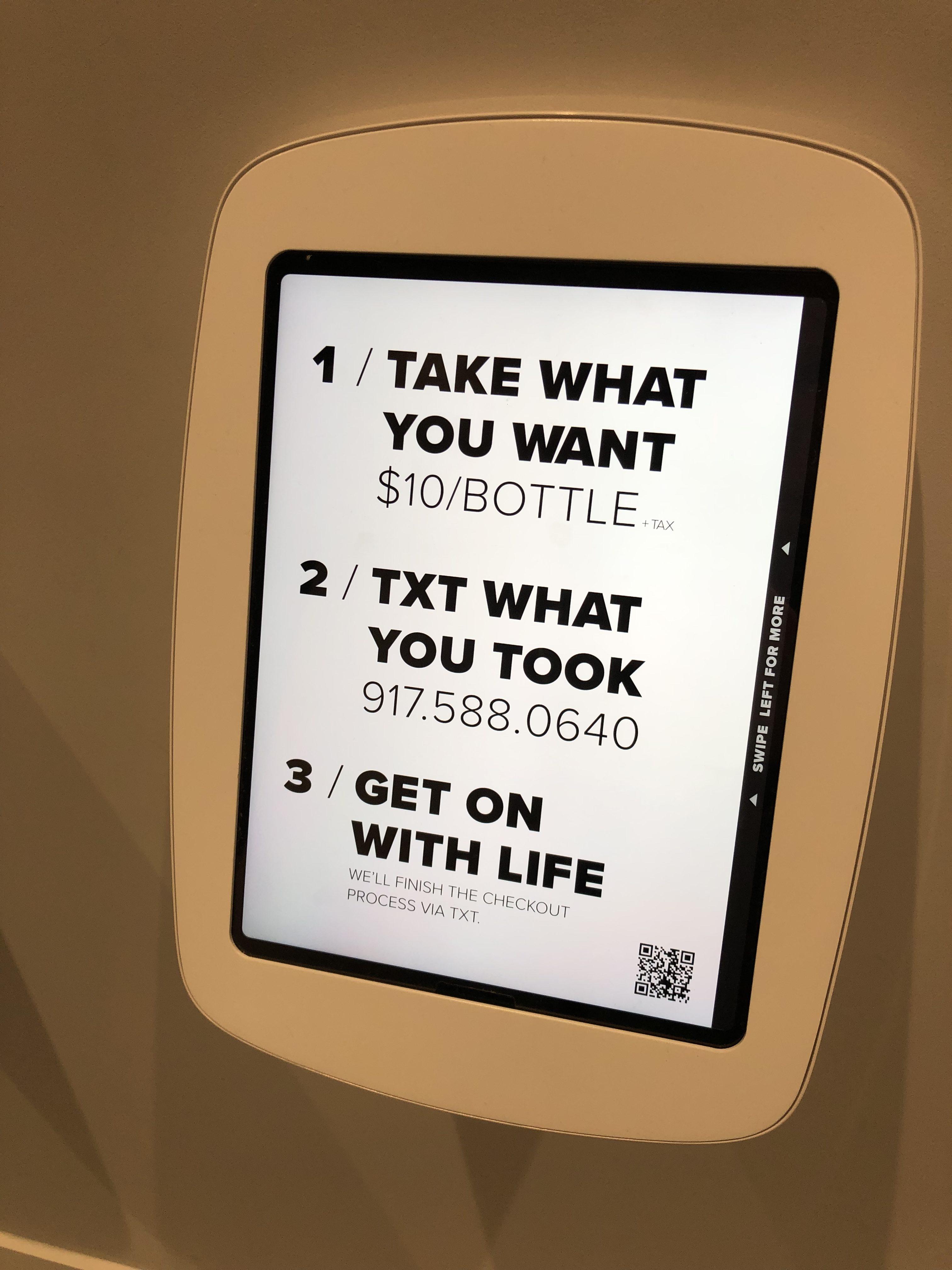 Tome lo que quiera, pague y siga su vida. #Retail